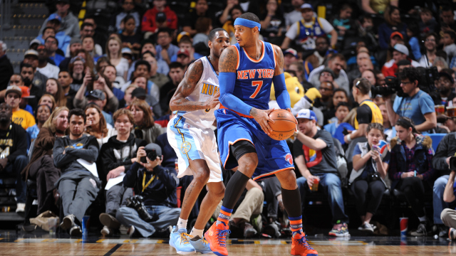 New York Knicks v Denver Nuggets