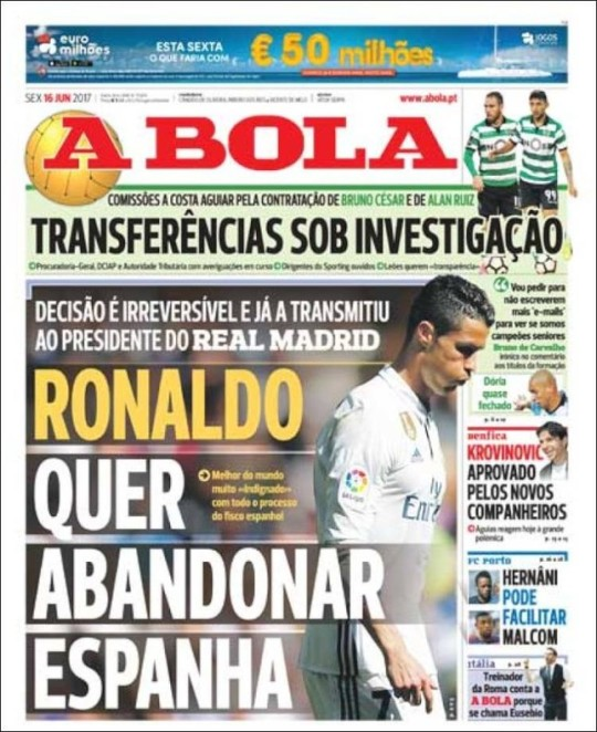 JBOLA_15874_16/06 : Nacional : Jornal Lisboa 40 paginas : Chapa
