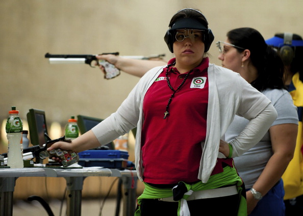 Woman's Air Pistol - XVI Pan American Games